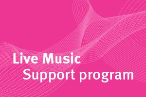 Live Music Support program