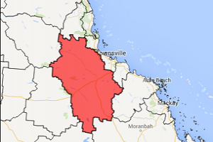 Map of Charters Towers